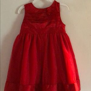 Carters 24 month red dress